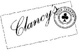 CLANCY'S PETER LEHMANN