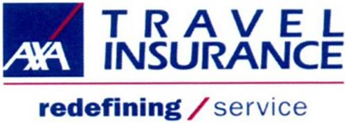 AXA TRAVEL INSURANCE REDEFINING/SERVICE