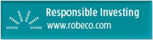 RESPONSIBLE INVESTING WWW.ROBECO.COM