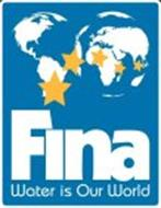 FINA WATER IS OUR WORLD