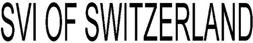 SVI OF SWITZERLAND