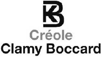 KB CRÉOLE CLAMY BOCCARD