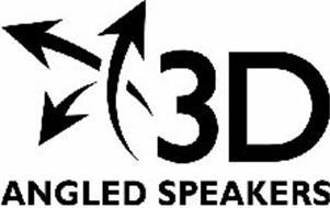 3D ANGLED SPEAKERS