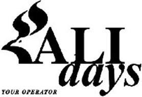 ALIDAYS TOUR OPERATOR