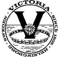 V · VICTORIA · SINCE 1905 · HELSINGBORG· SWEDEN