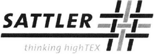 SATTLER THINKING HIGH TEX