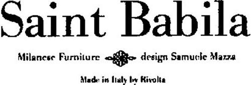 SAINT BABILA MILANESE FURNITURE DESIGN SAMUELE MAZZA MADE IN ITALY BY RIVOLTA