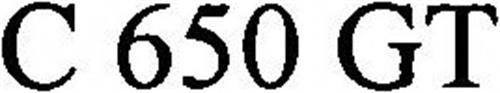 C 650 GT
