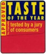 TASTE OF THE YEAR TESTED BY A JURY OF CONSUMERS APPROVED BY   MONADIA