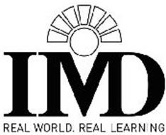 IMD REAL WORLD. REAL LEARNING