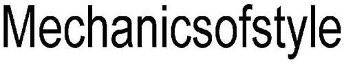 MECHANICSOFSTYLE