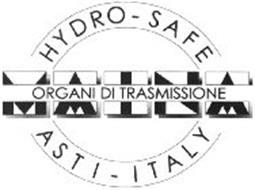 MAINA HYDRO-SAFE ORGANI DI TRASMISSIONE ASTI - ITALY