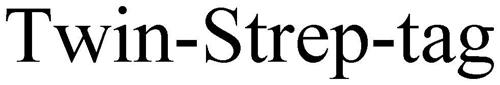 TWIN-STREP-TAG
