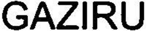 GAZIRU