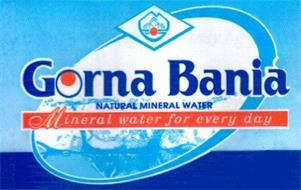 GORNA BANIA NATURAL MINERAL WATER MINERAL WATER FOR EVERY DAY