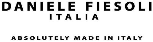 DANIELE FIESOLI ITALIA ABSOLUTELY MADE IN ITALY