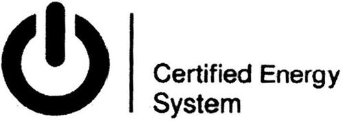 CERTIFIED ENERGY SYSTEM