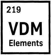 219 VDM ELEMENTS
