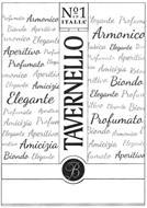 TAVERNELLO N°1 IN ITALIA ARMONICO ELEGANTE PROFUMATO B