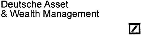 DEUTSCHE ASSET & WEALTH MANAGEMENT
