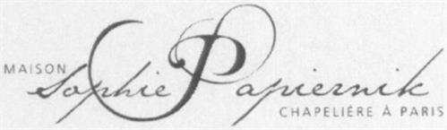 MAISON SOPHIE PAPIERNIK CHAPELIÈRE À PARIS