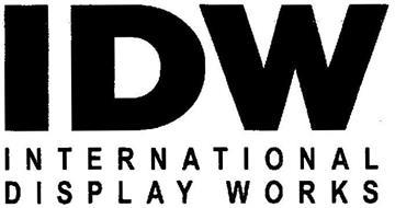 IDW INTERNATIONAL DISPLAY WORKS