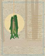 TROUT [TROUT] IRIDESCENT AND COLORFUL, TROUTE ARE FOUND DARTING IN MANY OF THE WORLD'S GLISTENING FRESH AND SALT WATERS.  MANIFESTING IN A VARIETY OF SPECIES, THE TROUT WILL TRACK ITS PREY UNDERWATER OR RISE ABOVE THE SURFACE FOR A LUCKY FISHERMAN'S FLY