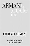 ARMANI CODE ICE GIORGIO ARMANI EAU DE TO