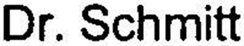 DR. SCHMITT