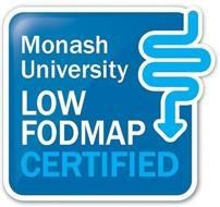 MONASH UNIVERSITY LOW FODMAP CERTIFIED