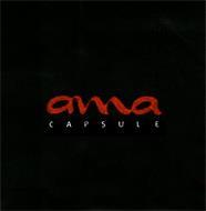 AMA CAPSULE