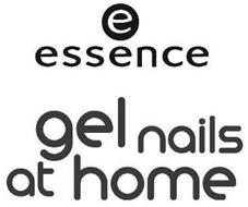 E ESSENCE GEL NAILS AT HOME