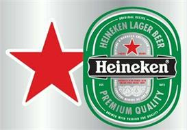 HEINEKEN LAGER BEER HEINEKEN PREMIUM QUALITY