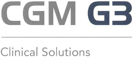 CGM G3 CLINICAL SOLUTIONS