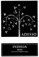 ADESSO INZOLIA SICILIA INDICAZIONE GEOGRAFICA TIPICA