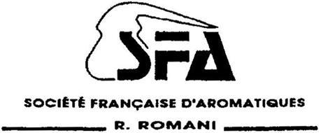 SFA SOCIÉTÉ FRANÇAISE D'AROMATIQUES R. ROMANI