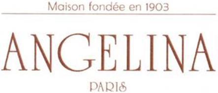ANGELINA PARIS MAISON FONDÉE EN 1903