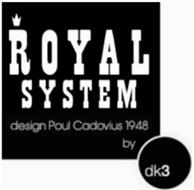 ROYAL SYSTEM DESIGN BY POUL CADOVIUS 1948 DK3