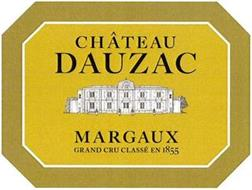 CHÂTEAU DAUZAC MARGAUX GRAND CRU CLASSÉ EN 1855