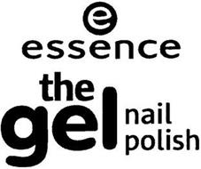 E ESSENCE THE GEL NAIL POLISH