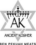 AK ANCIENT KOSHER BEN PEKUAH MEATS