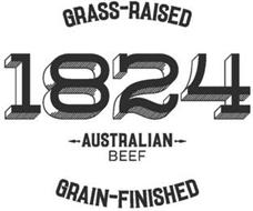 1824 GRASS-RAISED AUSTRALIAN BEEF GRAIN-FINISHED