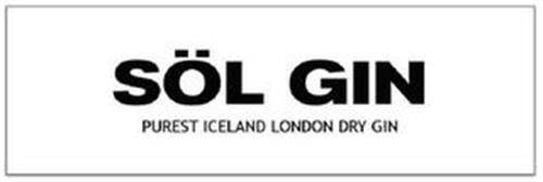 SÖL GIN PUREST ICELAND LONDON DRY GIN