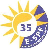 35 E-SPF EYE-SUN PROTECTION FACTOR