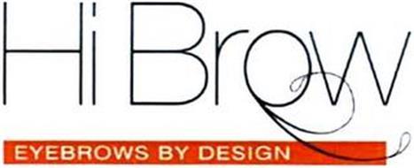 HI BROW EYEBROWS BY DESIGN