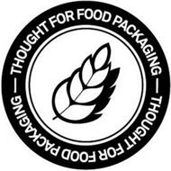 THOUGHT FOR FOOD PACKAGING - THOUGHT FOR FOOD PACKAGING