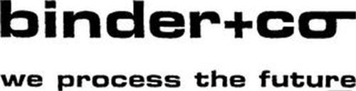 BINDER+CO WE PROCESS THE FUTURE