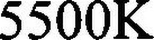 5500K