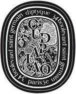 OUDPALAO 34 BOULEVARD SAINT GERMAIN PARIS5E 34 BOULEVARD SAINT GERMAIN DIPTYQUE