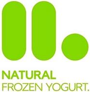 NATURAL FROZEN YOGURT.